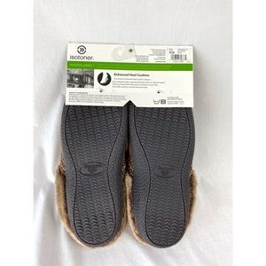 isotoner Shoes - NWT Isotoner Woodlands Microsuede Slippers
